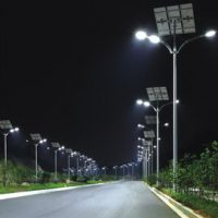 PV LED outdoor lighting system